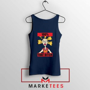 Cynthia Rugrats Nickelodeon Navy Blue Tank Top
