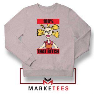 Cynthia Rugrats Nickelodeon Sport Grey Sweatshirt
