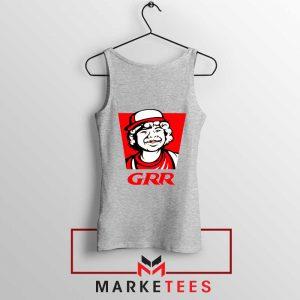 Dustin Henderson GRR Parody Sport Grey Tank Top