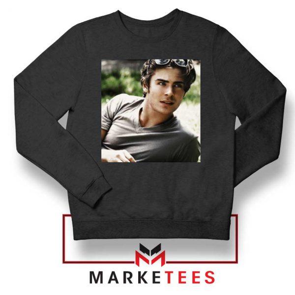 Efron Actor Black Sweatshirt