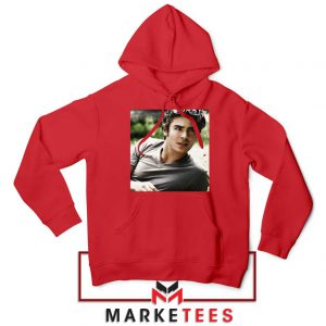 Efron Actor Red Hoodie