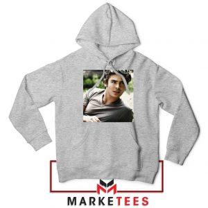 Efron Actor Sport Grey Hoodie