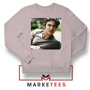 Efron Actor Sport Grey Sweatshirt