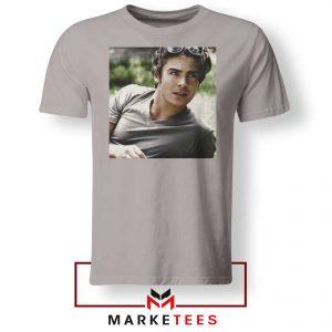 Efron Actor Sport Grey Tshirt