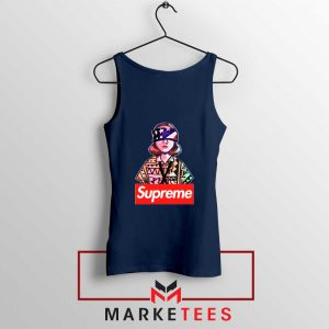 Eleven Blindfold Supreme Navy Blue Tank Top