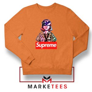 Eleven Blindfold Supreme Orange Sweatshirt