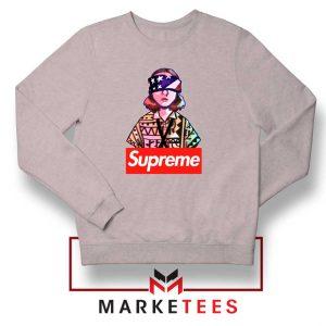 Eleven Blindfold Supreme Sport Grey Sweatshirt
