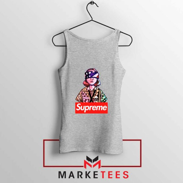 Eleven Blindfold Supreme Sport Grey Tank Top