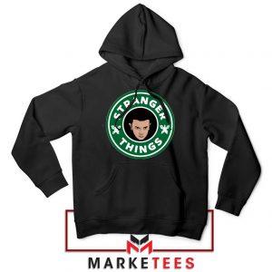 Eleven Starbucks Parody Black Hoodie