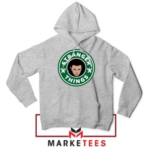 Eleven Starbucks Parody Sport Grey Hoodie