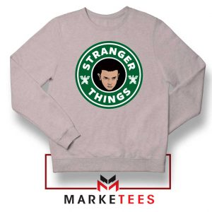 Eleven Starbucks Parody Sport Grey Sweatshirt