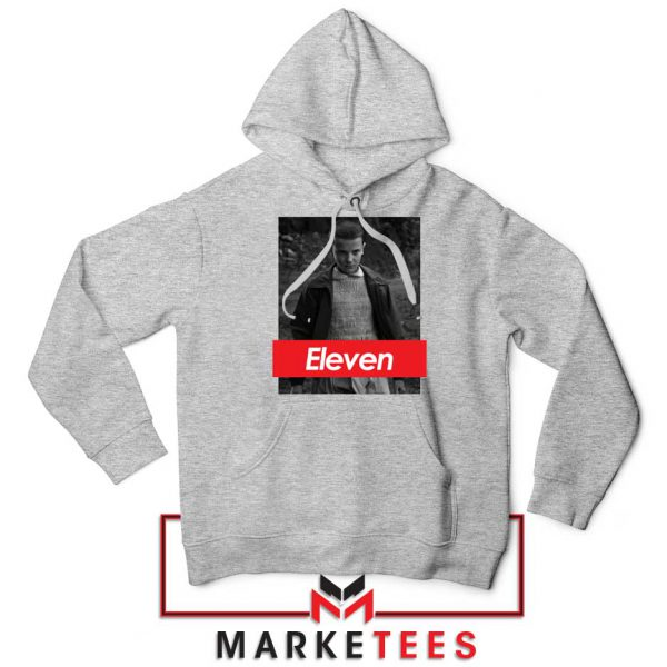 Eleven Supreme Parody Sport Grey Hoodie