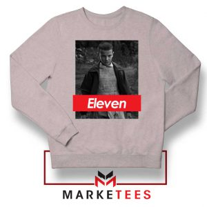 Eleven Supreme Parody Sport Grey Sweater