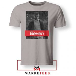 Eleven Supreme Parody Sport Grey Tee Shirt