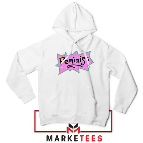 Feminist Rugrats Logo Hoodie