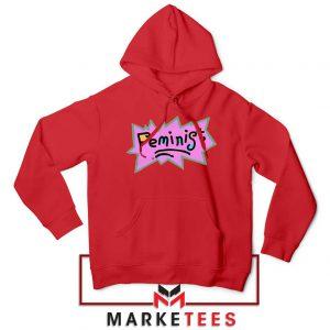 Feminist Rugrats Logo Red Hoodie