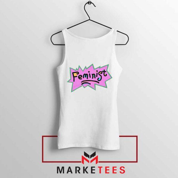 Feminist Rugrats Logo Tank Top