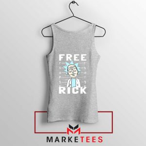 Free Rick And Morty Sport Grey Tank Top