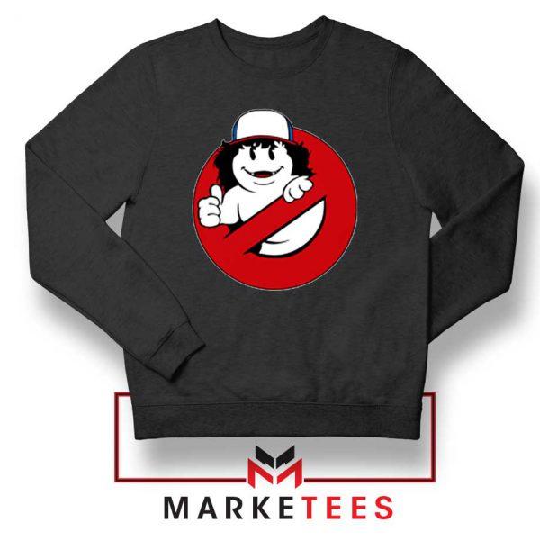 Ghostbusters Parody Dustin Black Sweatshirt