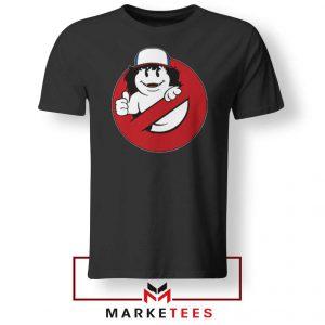 Ghostbusters Parody Dustin Black Tee Shirt