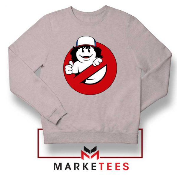 Ghostbusters Parody Dustin Sport Grey Sweatshirt