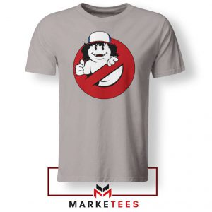 Ghostbusters Parody Dustin Sport Grey Tee Shirt