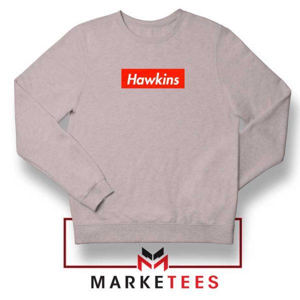 Hawkins Stranger Things Sport Grey Sweatshirt