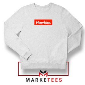 Hawkins Stranger Things White Sweatshirt
