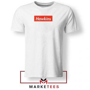 Hawkins Stranger Things White Tee Shirt