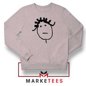 Instagram Icon Rihanna Sport Grey Sweatshirt