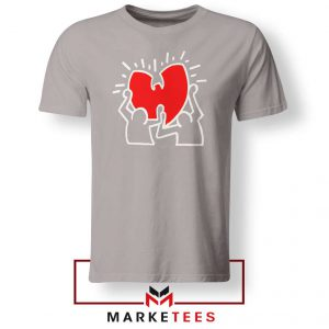 Keith Haring Rapper Parody Sport Grey Tshirt