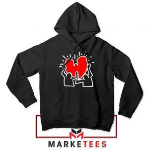 Keith Haring Rapper Parody Hoodie