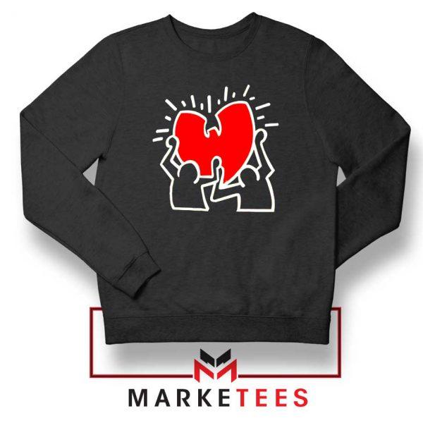 Keith Haring Rapper Parody Sweatshirt