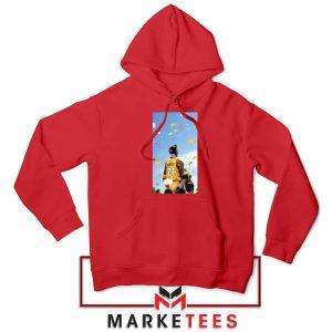 Kobe Bryant Los Angeles Art Red Hoodie