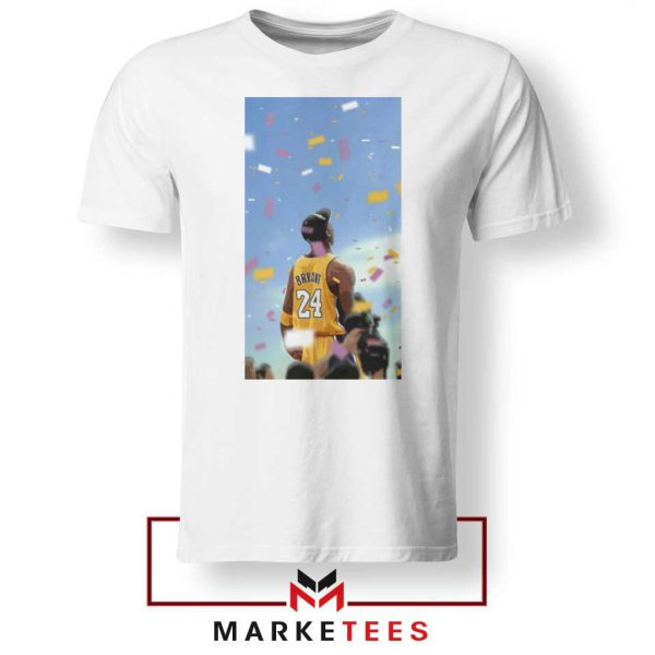Kobe Bryant Los Angeles Art White Tshirt
