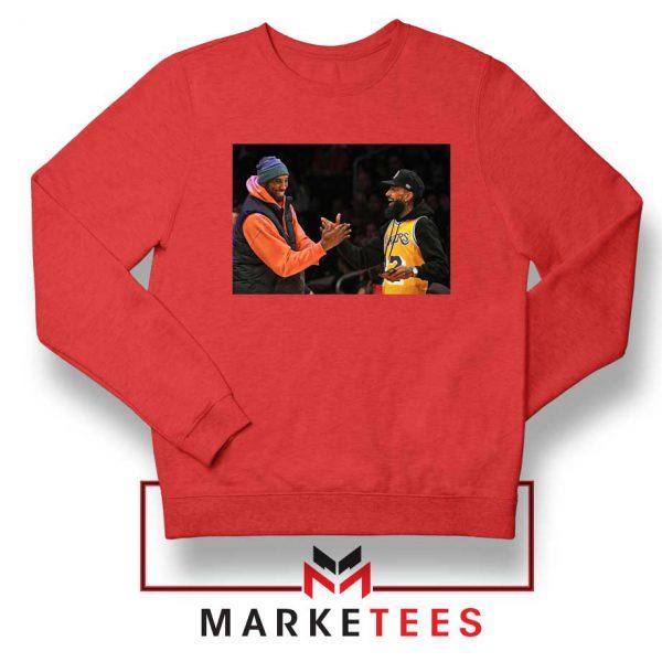 Kobe Bryant Nipsey Hussle Red Sweatshirt