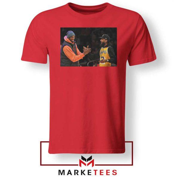 Kobe Bryant Nipsey Hussle Red Tshirt