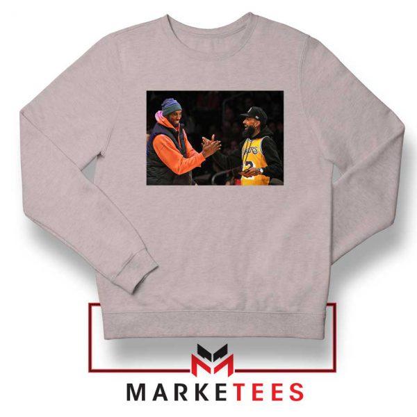 Kobe Bryant Nipsey Hussle Sport GRey Sweatshirt