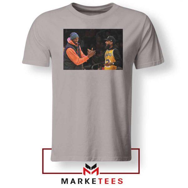 Kobe Bryant Nipsey Hussle Sport Grey Tshirt