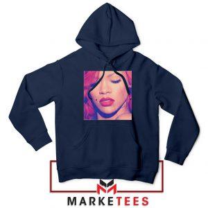 Loud Album Rihanna Navy Blue Hoodie