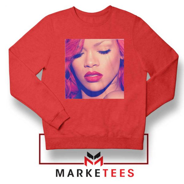 Loud Album Rihanna Red Sweater