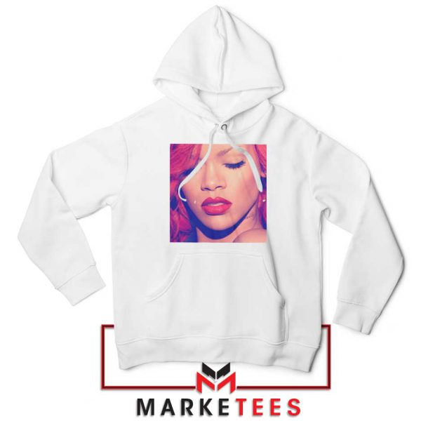 Loud Album Rihanna White Hoodie