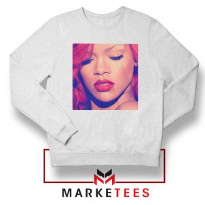 Loud Album Rihanna White Sweater