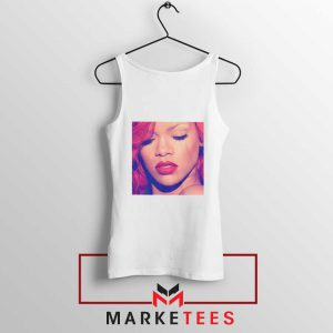 Loud Album Rihanna White Tank Top
