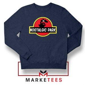 Nostalgic Park Reptar Navy Blue Sweatshirt
