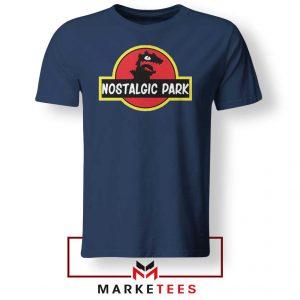 Nostalgic Park Reptar Navy Blue Tshirt