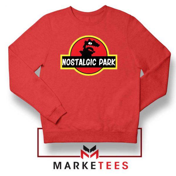 Nostalgic Park Reptar Red Sweatshirt
