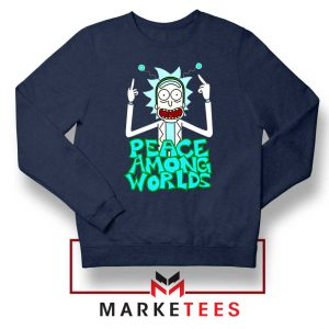 Peace Among Worlds Navy Blue Sweatshirt