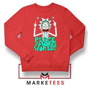 Peace Among Worlds Red Sweatshirt