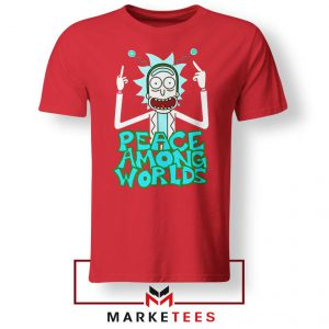 Peace Among Worlds Red Tshirt